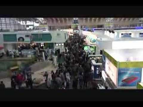 Videoblog: Impression CeBIT 2007: day 2 (part 2)