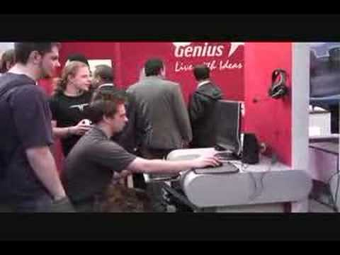 Videoblog: Impression CeBIT 2007: day 2 (part 1)