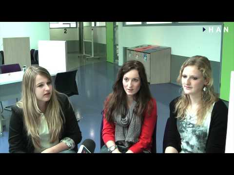 Videoblog: Marieke, Amber en Sharonna studentes HAN IBL met Frans