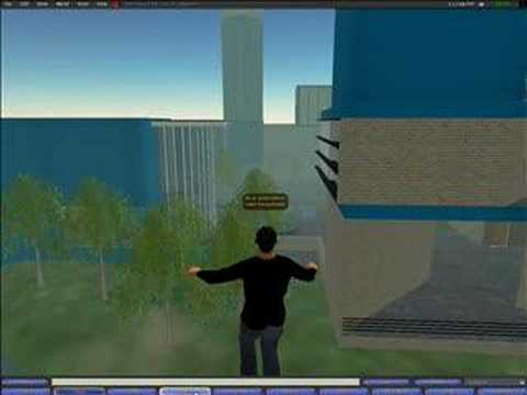 Dell in Second Life (screencast)