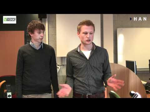 Videoblog: Nyink VOF HAN Student Company: van student company naar eigen bedrijf