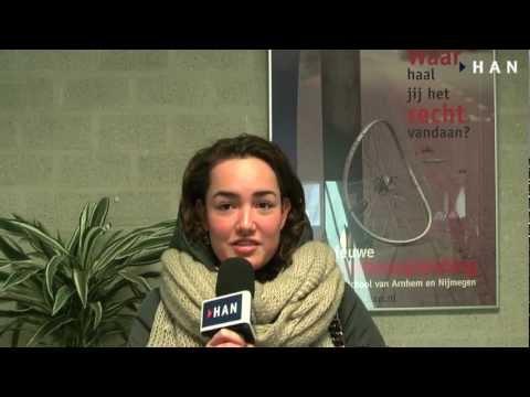 Videoblog: Hilde Oomes 2e jaars student HAN HBO-Rechten