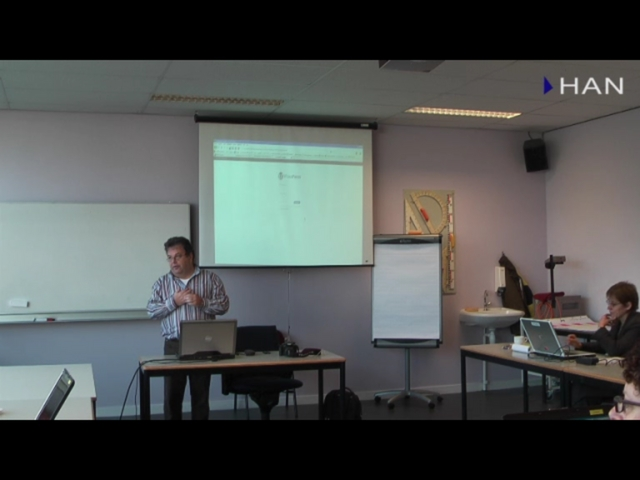 Videoblog: Workshop bloggen bij de HAN