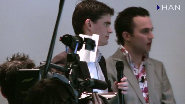 Videoblog: HAN studenten bij GasTerra Transitie Jaarprijs 2010
