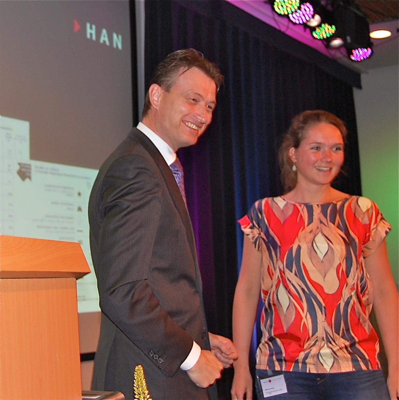 Video Halbe Zijlstra bij HAN voor startschot Studie in Cijfers