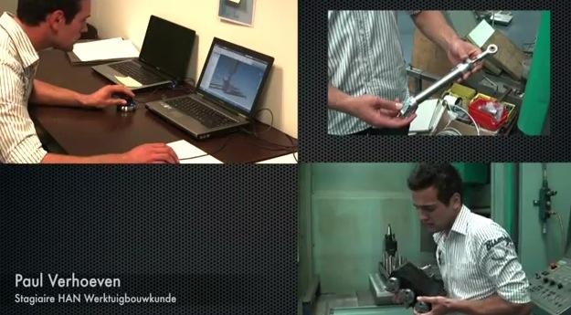 Videoblog: Stagiair HAN Werktuigbouwkunde bij Nuclear Fields