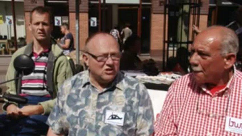 De Tolerantiepoort bij de HAN op Nijmegen 1 tv