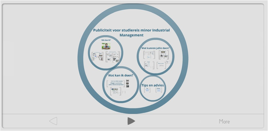 Presentatie voor minor Industrieel Management: publiciteit