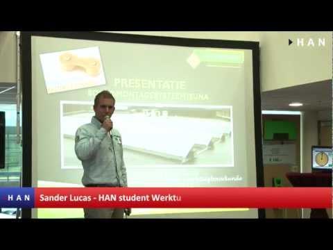Videoblogs: Werktuigbouwkunde student Sander Lucas wint Aanmoedigingsprijs DNV KEMA