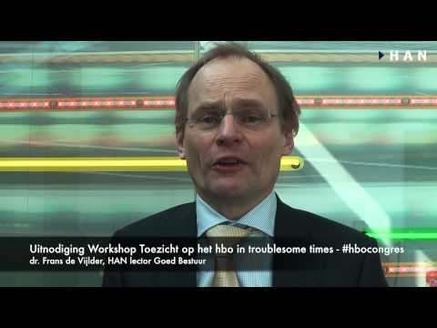 Videoblog: Uitnodiging workshop HBO-congres – Toezicht in hbo #hbocongres