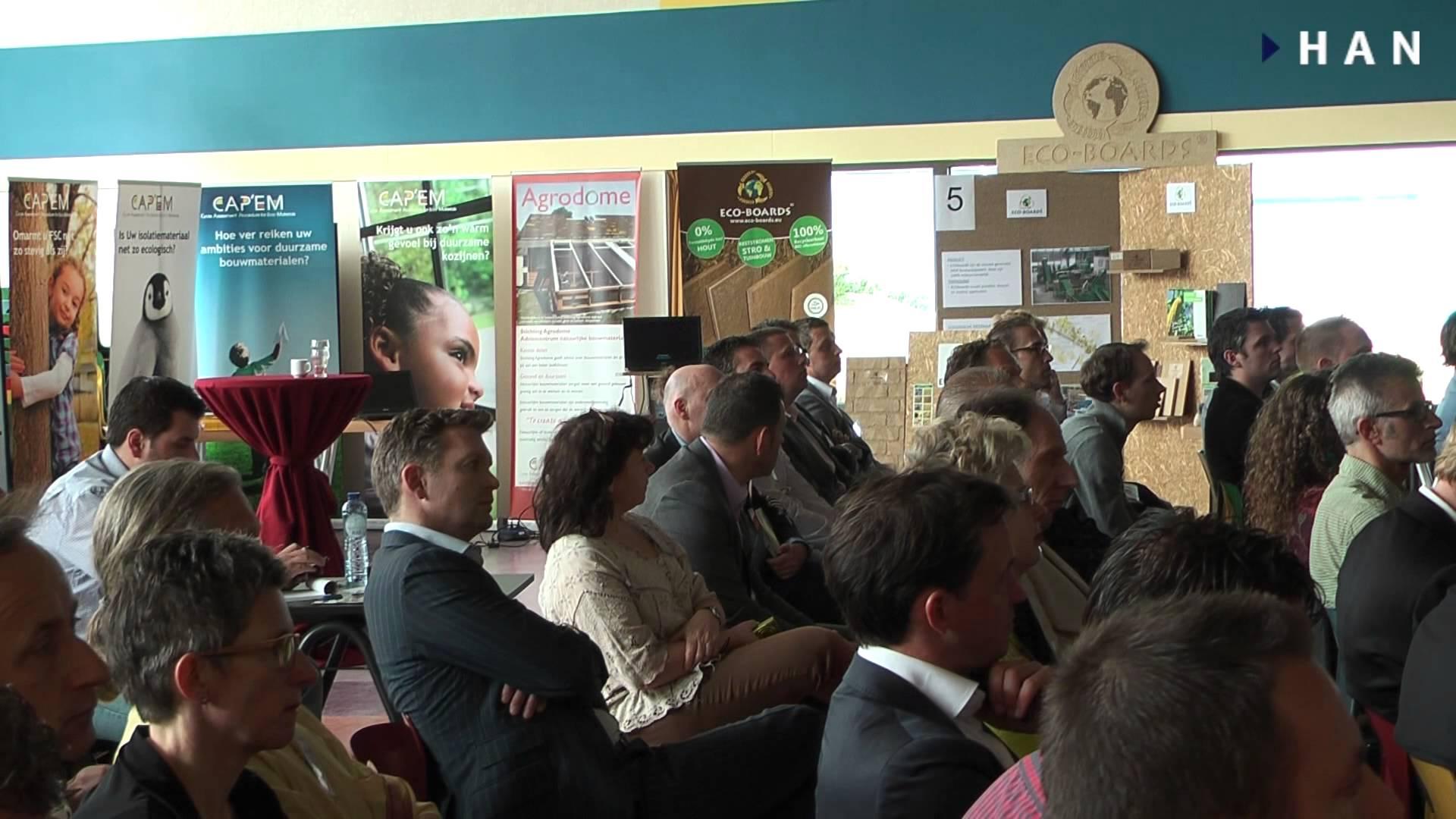 """Videoblog: Korte impressie Seminar en bedrijvenmarkt """"Duurzaam bouwen, een kwestie van doen"""""""