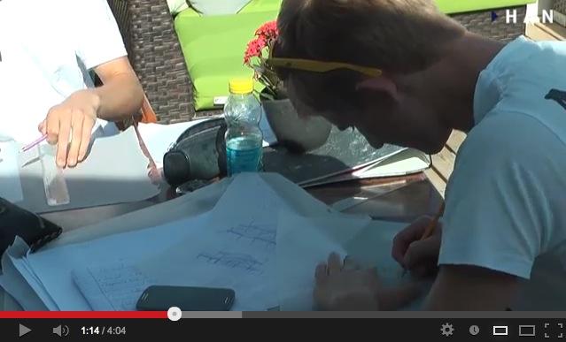 Videoblog: Start 1e jaar HAN Bouwkunde in Scheveningen