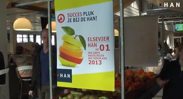 Korte video impressie fruitactie – HAN beste grote hogeschool 2013