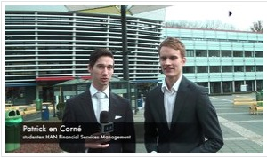 Videoblog: Pensioenspreekuren HAN Financial Services Management nov 2013