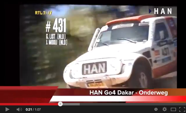 Videoblog: HAN Go4 Dakar week 1