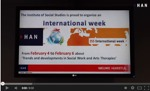 Videoblog: International Week Social Studies