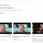 youtube for wordpress