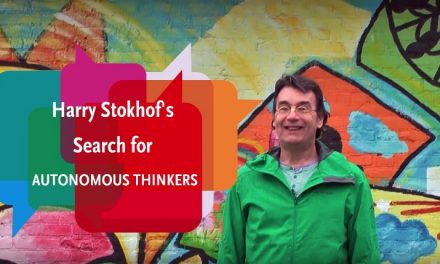Videoblog: Harry Stokhof's Search for Autonomous Thinkers