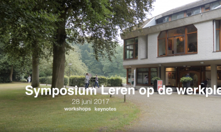 Videoblog: Impressie Symposium Verpleegkundigen leren op de werkplek