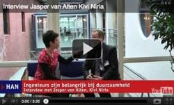 Videoblog: Interview Jasper van Alten Kivi Niria