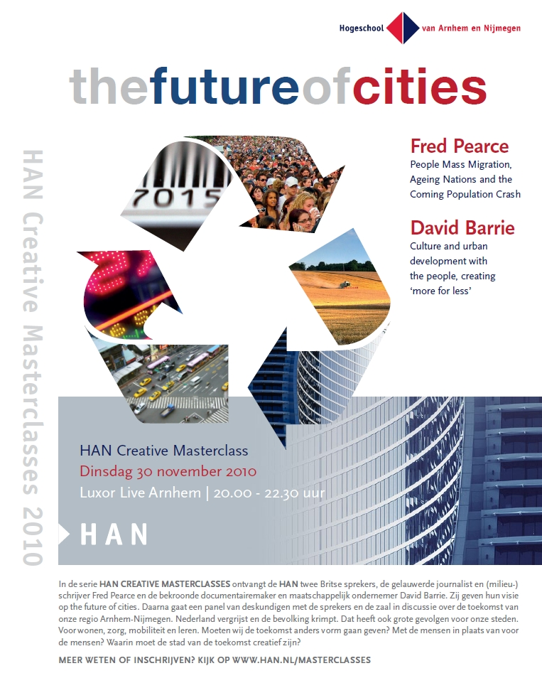 Uitnodiging HAN Creative Masterclass: the Future of Cities