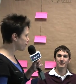 Videoblog: HAN studenten studeren af bij Info Support