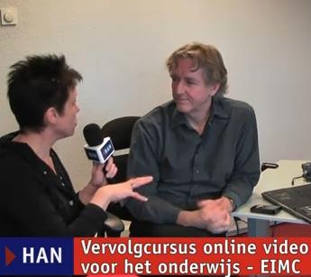 Videoblog: Vervolgcursus online video voor het onderwijs – EIMC