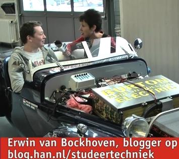 Videoblog: Erwin van Bockhooven student HTS Autotechniek blogt op Studeer Techniek
