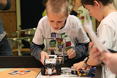 Videoblog: voorronde First Lego League bij HAN HLO