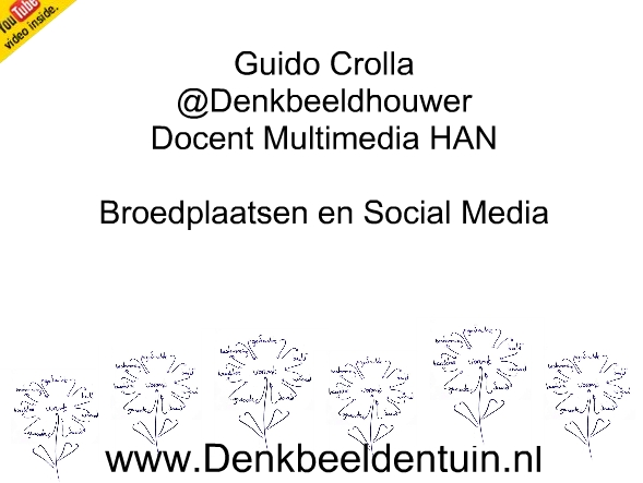 Broedfactoren als Social Media strategie van @denkbeeldhouwer