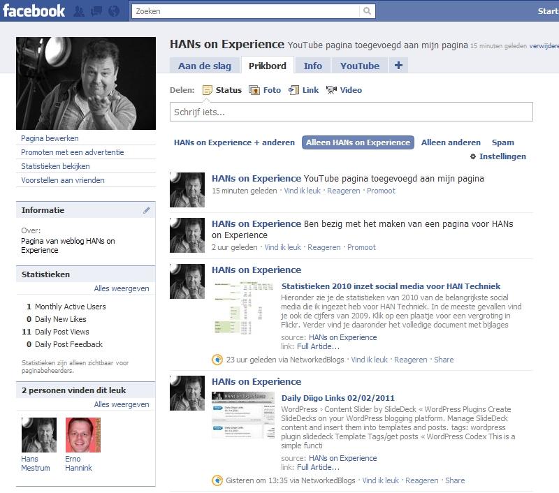 Facebook pagina aangemaakt. Doe je mee?