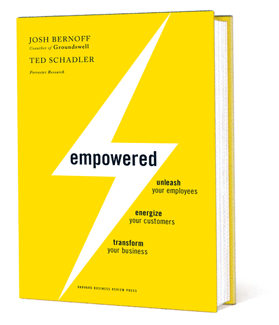 Empowered: It's a complete inversion of the top-down