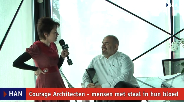 Videoblog: Courage Architecten mensen met staal in hun bloed