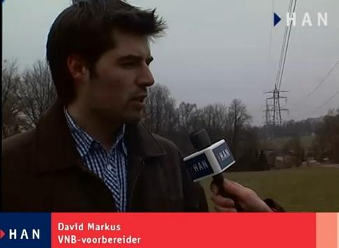 Videoblog: oud student HAN Elektrotechniek David Markus vertelt over zijn werkervaringen bij TenneT
