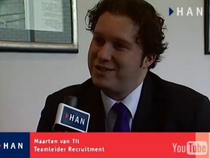 Videoblog: Recruiter Maarten van Tennet is op zoek!