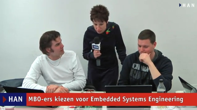 Videoblog: MBO-ers kiezen voor HAN Embedded Systems Engineering