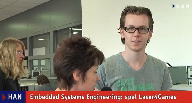 Videoblog: Embedded Systems Engineering spellen voor basisschool – Laser4Games
