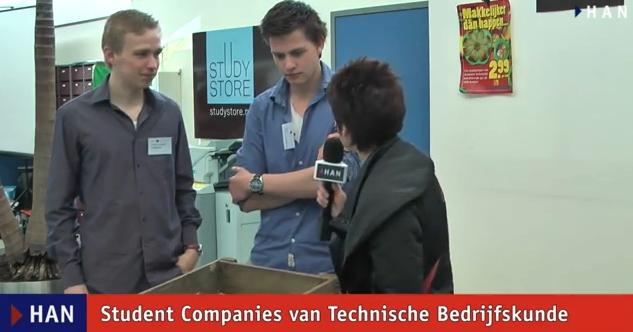 Videoblog: HAN Student Companies Technische Bedrijfskunde op Open Dag