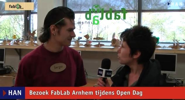 Videoblog: bezoek aan FabLab Arnhem