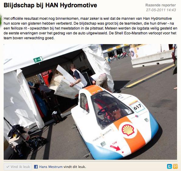 Videoblog: HAN Hydromotive voorbereiding