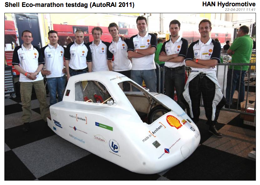 Fotoblog: HAN Hydromotive team bij Shell Ecomarathon