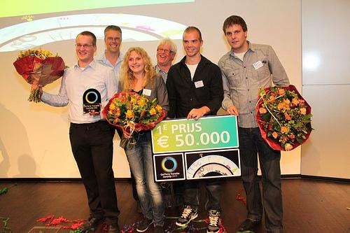 Fotoblog: HAN team GFT-vreter wint 1e prijs GasTerra Transitie Jaarprijs