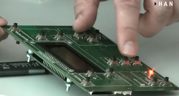 Videoblog: project scorebord HAN Embedded Systems Engineering