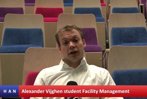 Videoblog: Alexander Vijghen blogger op HAN EMR blog Vergroot je wereld