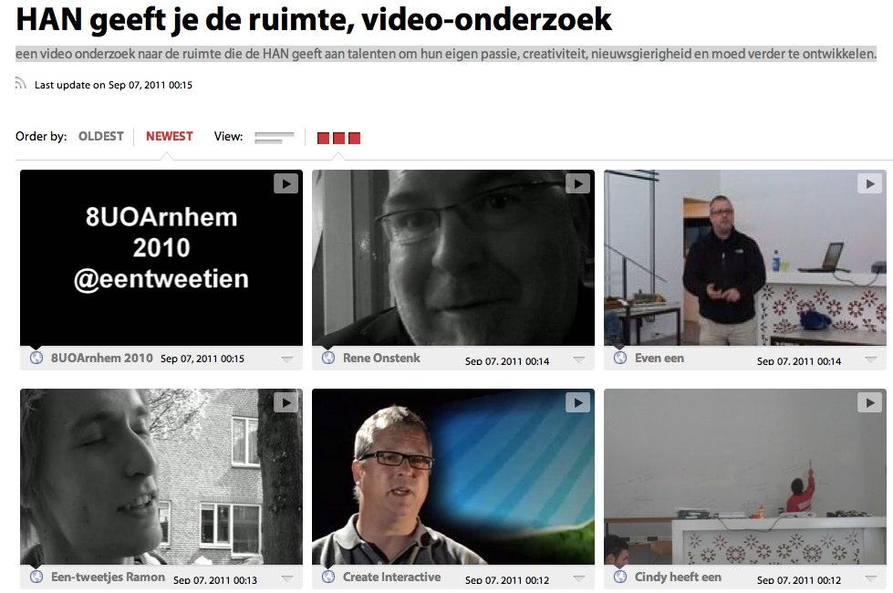 Video onderzoek van Guido Crolla naar HAN geeft je de ruimte