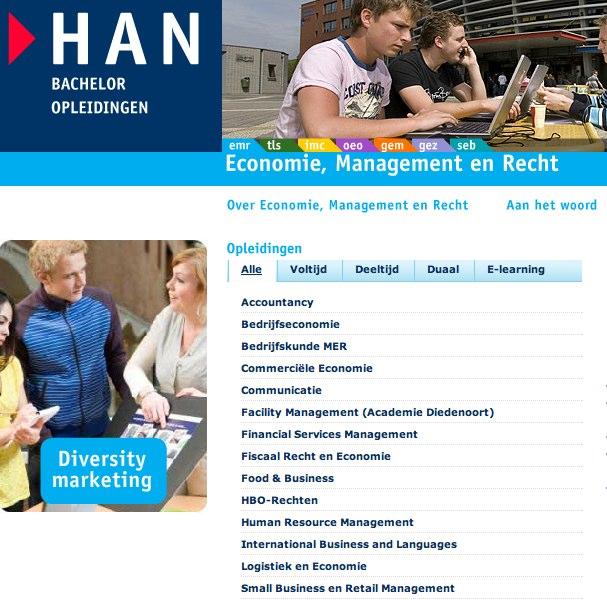 Per 1 sept. ook bloggen en vloggen voor HAN FEM