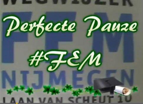 Video's #FEMisTOP actie