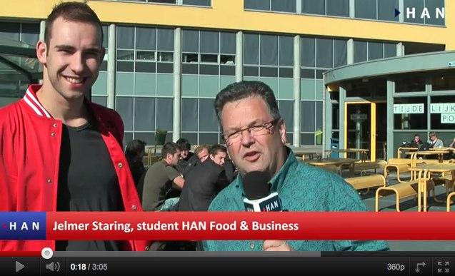 Videoblog: Food & Business HAN Jelmer Staring