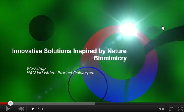 Videoblog: Bas Sanders over Biomimicry in Workshop voor HAN Industrieel Product Ontwerpen