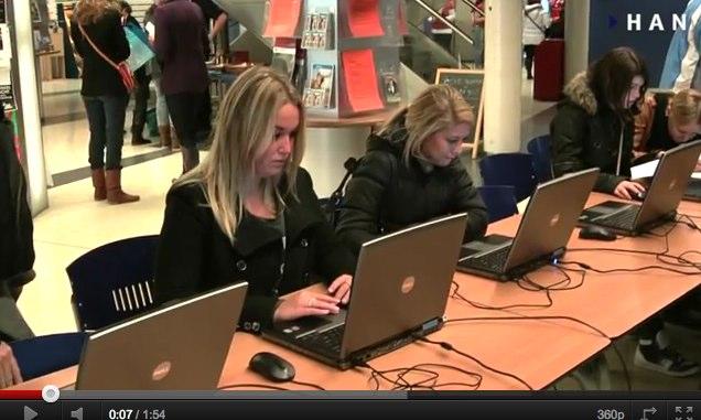 Videoblog: Sfeerimpressie Open dag HAN Economie Management en Recht